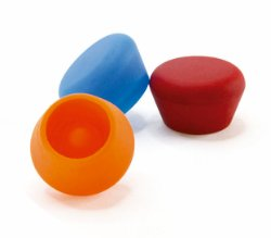 Silicone champagne stopper 1-pack svart