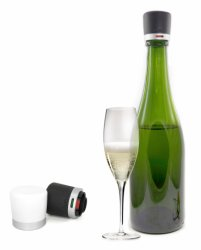 Twist champagne stopper svart 1-pack